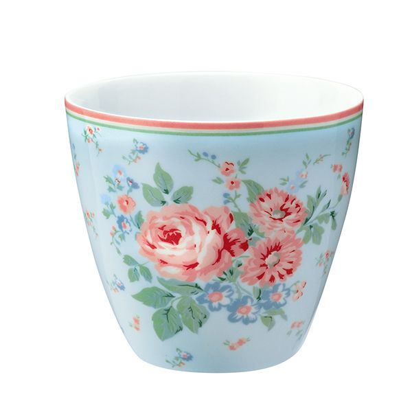 GREENGATE Latte Cup Marley Pale Blue - Limitiert -
