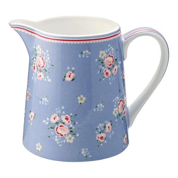 GREENGATE Krug Nicoline Dusty Blue 0,5 Ltr.