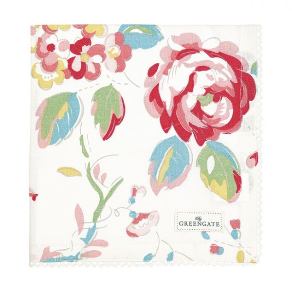 GREENGATE Serviette Amanda White