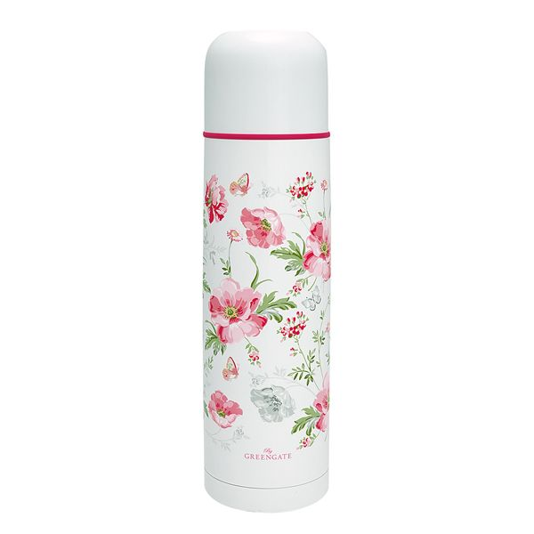 GREENGATE Thermosflasche Meadow White 0,8 Ltr.