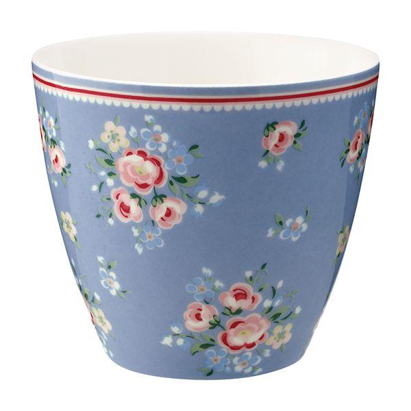 GREENGATE Latte Cup Nicoline Dusty Blue
